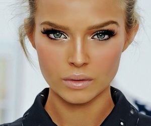 model, makeup, and make up image