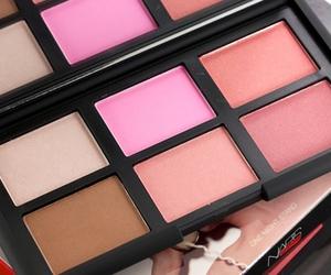 makeup, girl, and blush image