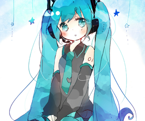 kawaii, vocaloid, and anime image