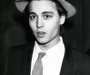 johnny depp, johnny, and hat image