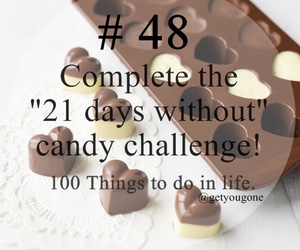48, 100 things to do in life, and candy image