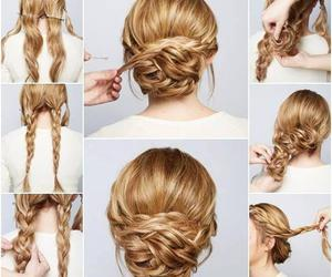 Images About Wedding Hairstyle On We Heart It See More About - Bridesmaid hairstyle diy