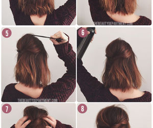 beauty, hair style, and shortie image