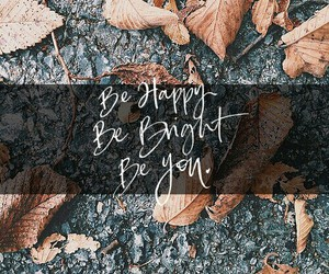 background, calligraphy, and fall image