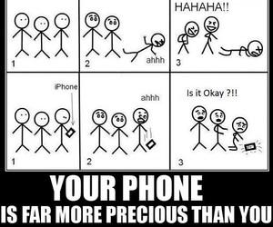 lol, phone, and precious image