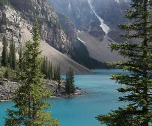 mountains, nature, and christmas image