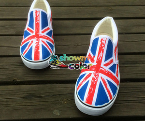 slip on vans, hand painted shoes, and custom vans shoes image
