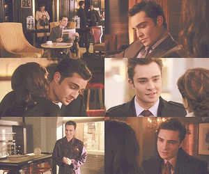 chuck bass, ed westwick, and Hot image