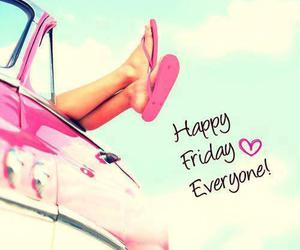friday, happy, and pink image