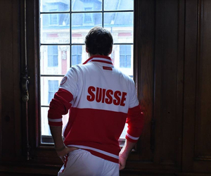 federer, tennis, and suisse image