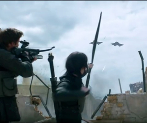 gale, katniss everdeen, and mockingjay image