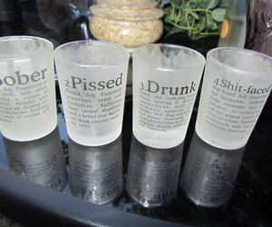 cup, drunk, and glass image