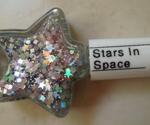 stars, glitter, and space image