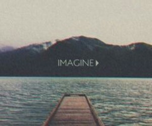 imagine, nature, and quote image