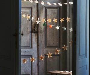 christmas, stars, and decoration image