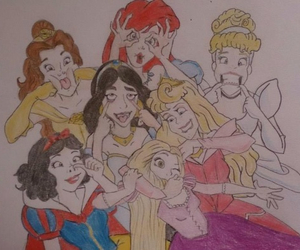 disney, draw, and funny image