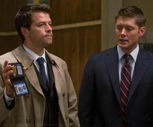 supernatural, dean, and fbi image