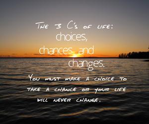 chance, chances, and change image