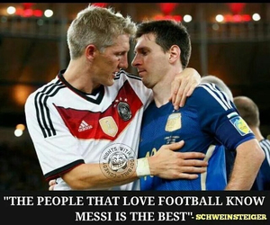 messi and bastian shwinchtiger image