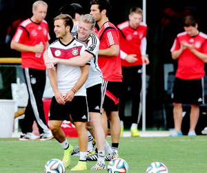 germany, mario gotze, and andre schürrle image
