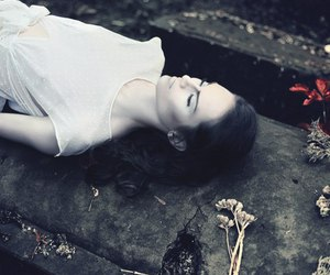 beautiful, girl, and pale image