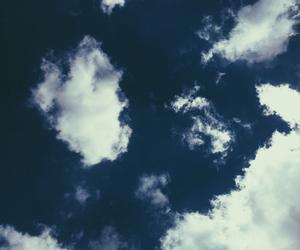 blue, ciel, and cloud image