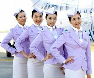 airline, Dream, and flight attendant image