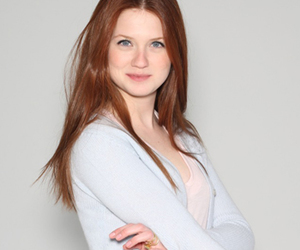 bonnie wright, ginny weasley, and ginger image