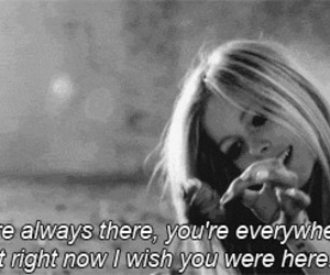 Avril Lavigne, wish you were here, and wish image
