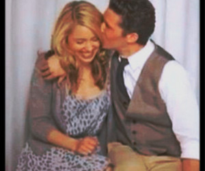glee, matthew morrison, and dianna agron image
