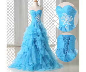 blue, party, and Prom image