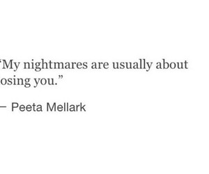 nightmares, quote, and hunger games image