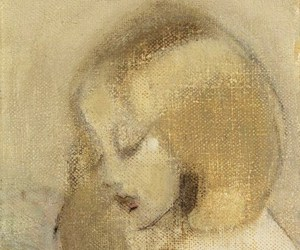 20th century, Helene Schjerfbeck, and annuli reading image
