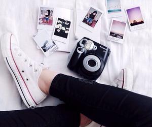 converse, photo, and polaroid image