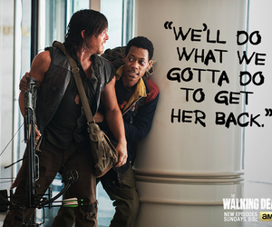 noah, the walking dead, and twd image