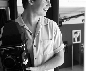 ansel, smile, and divergent image