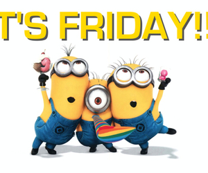 friday, minions, and sweet image
