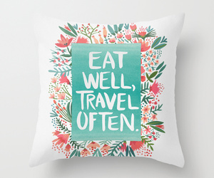 flowers, home, and throw pillow image