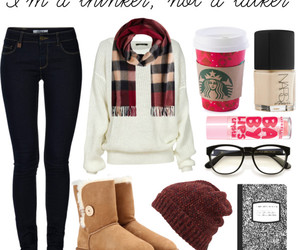 autumn, glasses, and nars image