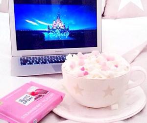 disney, pink, and chocolate image