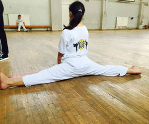 flexible, karate, and martial arts image
