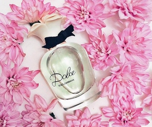 perfume, flowers, and dolce image