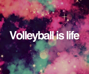 heart, volleyball, and love image