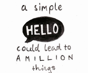quotes, hello, and million image