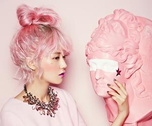 pink, 4minute, and gayoon image