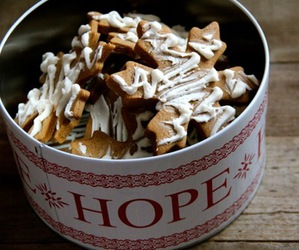 hope, christmas, and Cookies image