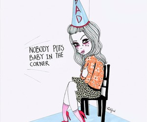 valfre, art, and baby image