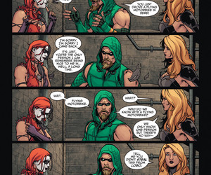 Black Canary, harley quinn, and green arrow image
