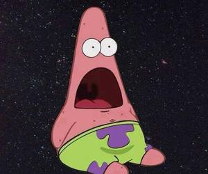 patrick, funny, and spongebob image