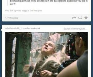 Legolas, lol, and LOTR image